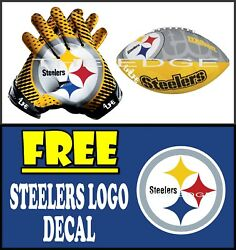 Pittsburg Steelers 4life  Window Wall Vinyl Glossy Decals Various Size Stickers
