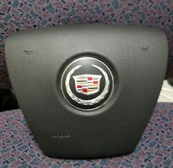 2012-2014 Escalade Driver Airbag Wheel Used Black In Color