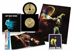 Jeff Beck Wired Sacd Multi-hybrid Edition Paper Jacket Japan Limited Edition