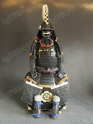 Japanese Iron And Silk Knotted Wearable Rüstung Samurai Armor Suit 001