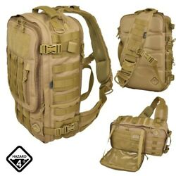 Hazard 4 Switchback Full-Sized Laptop Sling Pack Coyote