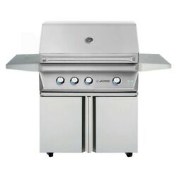 Twin Eagles Grill On Cart with Double Doors with Infrared Sear Zone Kit Natural