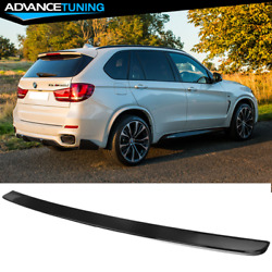 Fits 14-17 Bmw F15 X5 M Performance Oe Gloss Black Rear Roof Spoiler Wing Abs