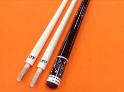 Longoni Carom Cue Armonia With S20 Shafts Wood Joint.