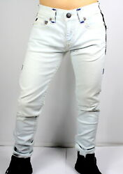 True Religion 329 Menand039s Rocco Relaxed Skinny Super T Jeans - Mj60nzx8 Sz 42 44