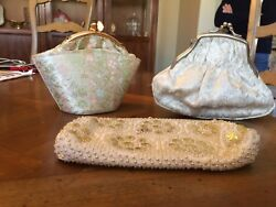 Vintage Evening Bags 3 each $20.00