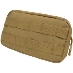 Condor Tactical Multifunctional Utility Pouch Molle Airsoft Webbing Coyote Brown