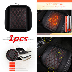 Heated Car Seat Heater Chair Cushion Warmer Cover 12V Carbon Fiber Pad Universal