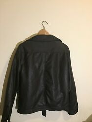 Luxury Collection Faux leather Men's Brand new With tags Size: M Made in Italy