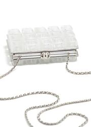 Chanel Ice Cube Clutch Minaudière