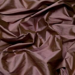 Iridescent Antique Rose 100 Silk Shantung Fabric 54 W By The Yard Sf-5072