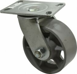Value Collection 6 Diam X 2-1/2 Wide X 7-1/2 Oah Top Plate Mount Swivel Ca...