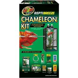 Zoo Med Reptibreeze Chameleon Kit Screen Cage Reptile Reptiles