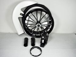 Harley Bagger 26 Inch Front Wheel Tire Kit Road Glide  Touring 00-07