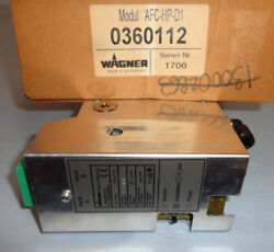 Wagner AFC-HP-D1 Air Flow Control AFCHPD1 Module 0360112 Powder Coating NEW
