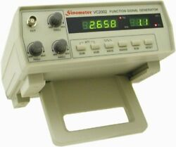 Sinometer 2mhz Function Generator, Vc2002 With High Stability And Accuracy