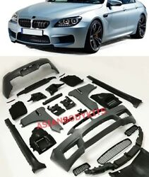 for BMW 6 series F06 BODYKIT M6 style for Gran Coupe 2011-2017