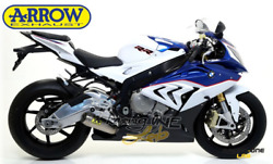 Full Exhaust System Arrow Competition Evo2 For Bmw S 1000 Rr 17 18 Race Version