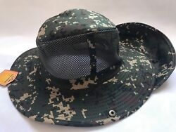 Boonies Fishing Army Military Hiking Snap Brim Neck Cover Sun Hat Cap Mesh $8.98