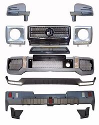 For Mercedes W463 G Class G63 Amg Body Kit Front Rear Bumper Mirrors Grille
