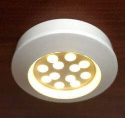 Marine Boat Led Ceiling Light Warm White Cabin Interior .9w Only 12 Led Bulbs