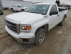 2015 Gmc Sierra 1500 Pickup Truck Front End Nose Clip Assembly White Hood Bumper