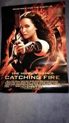 The Hunger Games Catching Fire Original Double Sided Movie Poster