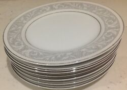Imperial China Whitney Pattern 7 Bread And Butter Plates 6.5