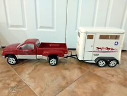 Breyer Horse Truck And Trailer Traditional Size Good Played With Condition