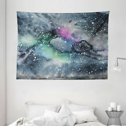 Psychedelic Tapestry Celestial Cosmic Print Wall Hanging Decor 80Wx60L Inches