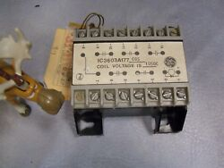 Ic3603a177cg5 Ge General Electric Potted Relay Coil Voltage 105 Dc
