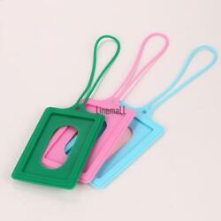Silicone Privacy Cover Luggage Tag Suitcase Label Address ID Holiday Tags LM