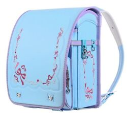 Coulomb Randoseru Backpack School Bag 2018 Model Girl Light blue Superfine FS