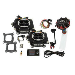 Fitech Fuel Injection System 34062 Go-efi 2x4 And Hy-fuel 625 Hp Tbi Black