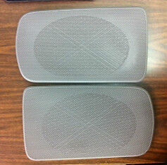 2002-2006 Camry Gray Replacement Rear Speaker Grille Covers Oem