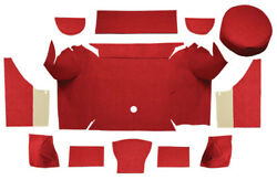 1967-1968 Ford Mustang Trunk Mat -loop |convertible, Trunk Kit With Boards