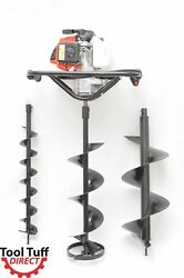 Tool-tuff 63cc One-man Post Hole Digger / Ice Auger 3 Hp Ice Or Earth Augers