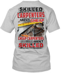 Off-the-rack Awesome Carpenter - Skilled Carpenters Hanes Tagless Tee T-Shirt $18.99