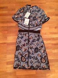 Self Portrait Florence Mini Dress Uk4 Us0 Nwt
