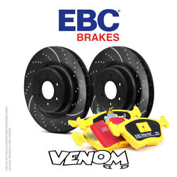Ebc Front Brake Kit Discs And Pads For Vw Golf Mk2 1g 1.8 G60 160 90-91