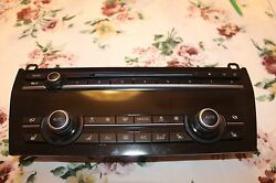 Bmw F01 - F04 Radio and climate control panel  Climate-controlled seat 9306178