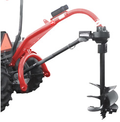 Tool Tuff Pole-star 1500 Super Heavy Duty 3-pt Tractor-mounted Post Hole Digger