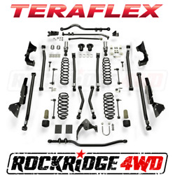 "Teraflex Jeep Wrangler JK 4-Door Alpine CT6 Suspension System 6"" Lift No Shocks"
