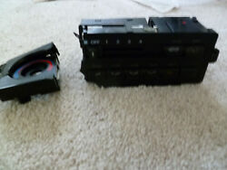 88-91 Honda CRX OEM climate control switch SI HF DX for parts