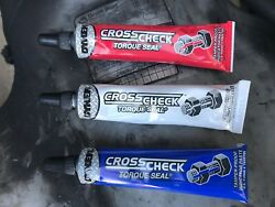 Dykem Cross Check Torque Seal 3 Pack Red White Blue Indication Paste