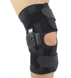 Comfortland Hinged Knee Brace Support Stability Band S M L Xl Sport Orthopedic