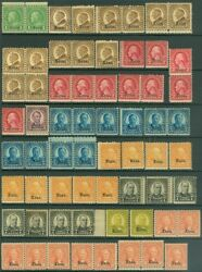 Edw1949sell Usa 1929 Sc 658//68 Choice Mnh Holding Of Kansas Issues Cat 2536