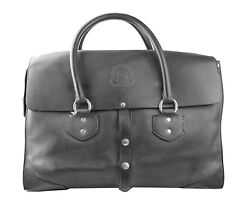 Ghurka Amazing Extra Large Brookfield Black Leather New 3250.00