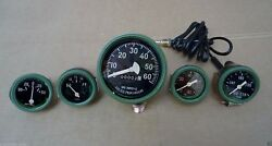 Willys Mb Jeep Ford Gpw Cj - Speedometer Temp Oil Fuel Amp Gauges Kit- A7