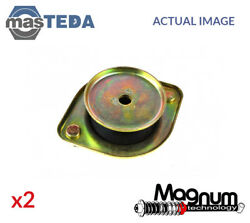 2x FRONT TOP STRUT MOUNTING CUSHION SET MAGNUM TECHNOLOGY A76001MT I NEW